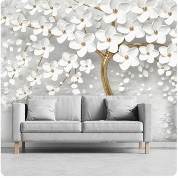 Fehér-arany fa, poszter (többféle méretben) 13589