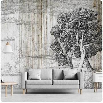 Falhatású poszter fával (többféle méretben) 13685
