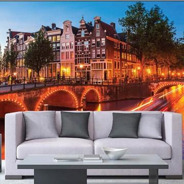 Amszterdam, városkép poszter 225x250 cm / 375x250 cm (0023)