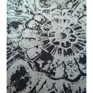Wll-for elegáns ezüst-fekete árnyalatú tapéta 1257502