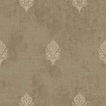 Wll-for elegáns barna tapéta fényes mintával 1211705