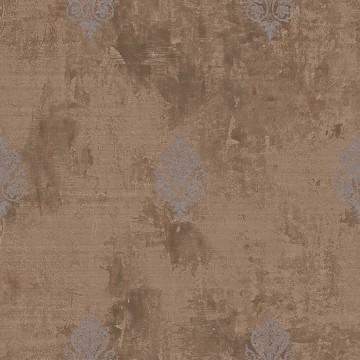 Wll-for elegáns barna tapéta fényes mintával 1211706