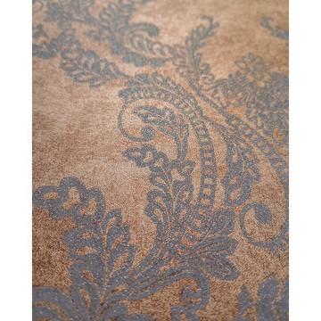Wll-for elegáns barna tapéta fényes mintával 1211601
