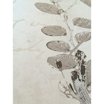 Wll-for elegáns szürke árnyalatú tapéta virágmintával 1242403