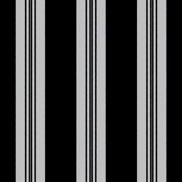 Wll-for fekete-ezüst csíkos tapéta 1257602