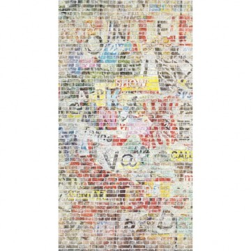 Beautifull Image színes graffiti poszter  (vlies, 150 x 280 cm) 68194568