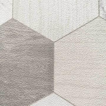 Alice szürke geometrikus tapéta (50x280 cm-es panel) 100711000