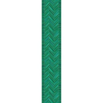 Alice zöld mintás tapéta (50x280 cm-es panel)  100737077
