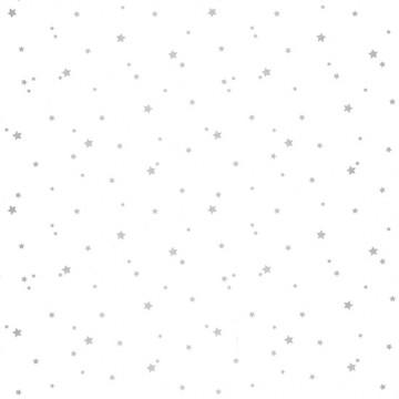 Girl Power fehér-ezüst csillagos tapéta 100809909