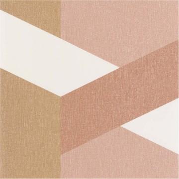 Moove bézs-barna geometrikus tapéta 2118