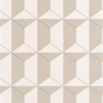 Moove bézs geometrikus tapéta 1903