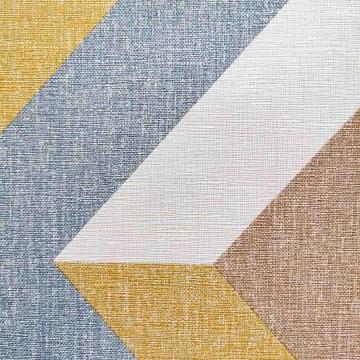 Moove barna-kék geometrikus tapéta 3030