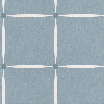 Moove kék geometrikus tapéta 6617