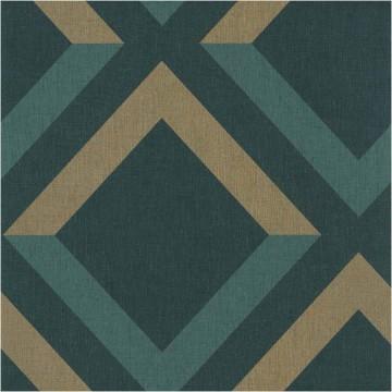Moove sötétzöld geometrikus tapéta 6913