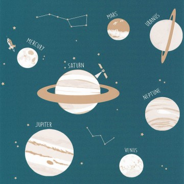 Planet bolygókat ábrázoló tapéta 101906011