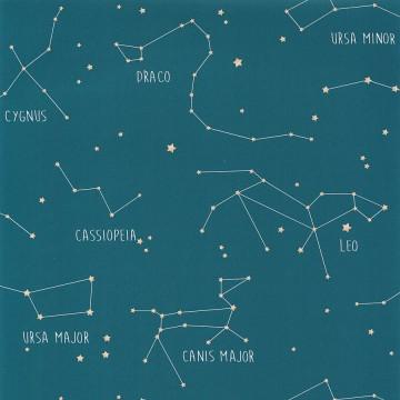 Planet csillagképeket ábrázoló tapéta 101916003