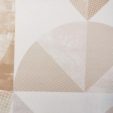 Spaces bézs geometrikus tapéta 100151011