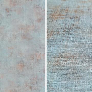 Telas kék árnyalatú tapéta barna mintával 69876408