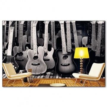 Poszter, gitárok 375x250 / 225x250 cm / 150x250 cm (0303)