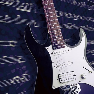 Poszter, gitár 225x250 cm / 375x250 cm (0304)