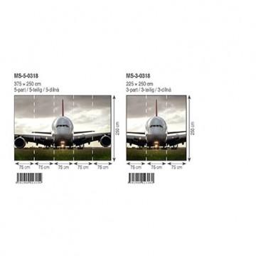 Poszter, repülőgép 225x250 cm / 375x250 cm (0318)