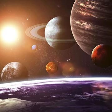 Poszter, bolygók 150x250 / 225x250 cm / 375x250 cm (0188)
