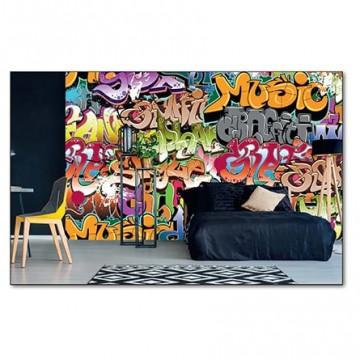 Poszter, graffiti 375x250 / 225x250 cm / 150x250 cm (MS-0322)