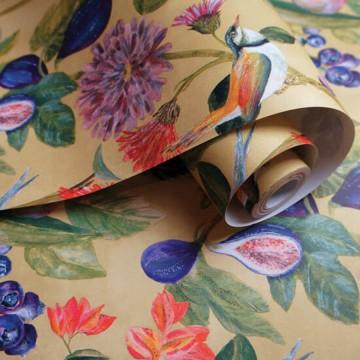 Utopia színes virágos tapéta 91080