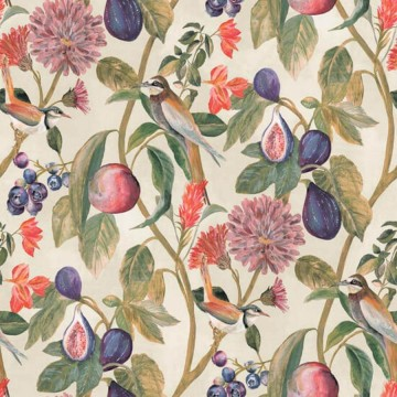 Utopia színes virágos tapéta 91081