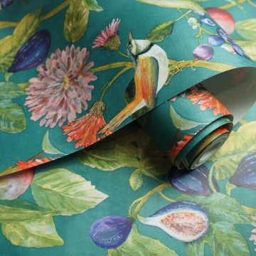 Utopia színes virágos tapéta 91082