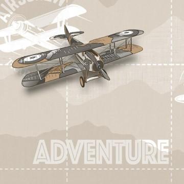 Babylandia tapéta fiúszobába repülőgépekkel 5413