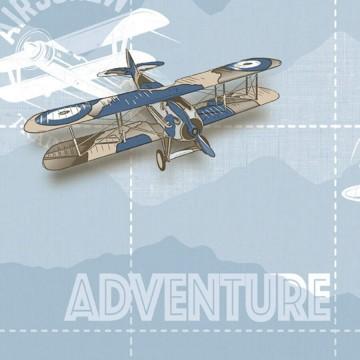 Babylandia tapéta fiúszobába repülőgépekkel 5414