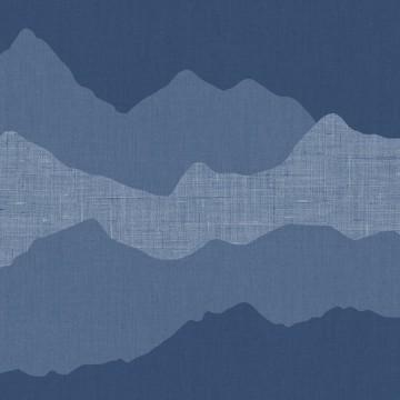 Babylandia kék tapéta gyerekszobába 5419