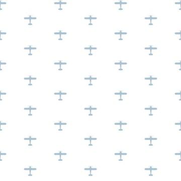 Babylandia tapéta fiúszobába repülőgépekkel 5421