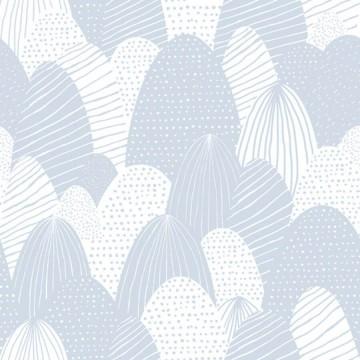 Babylandia kék mintás tapéta 5423
