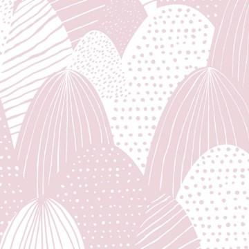 Babylandia rózsaszín mintás tapéta 5424