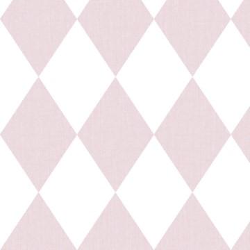 Babylandia rózsaszín rombuszmintás tapéta 5428