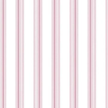 Babylandia rózsaszín csíkos tapéta 5434