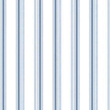 Babylandia kék csíkos tapéta 5436
