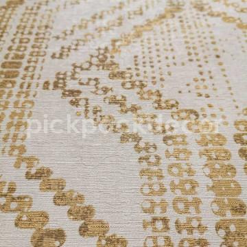 Zero bézs-arany mintás tapéta 9728