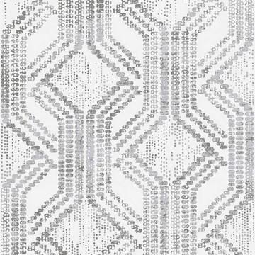 Zero törtfehér-ezüst mintás tapéta 9729